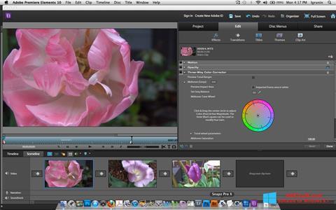 Στιγμιότυπο οθόνης Adobe Premiere Elements Windows 8.1