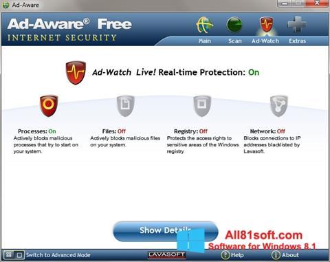Στιγμιότυπο οθόνης Ad-Aware Windows 8.1