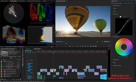 Στιγμιότυπο οθόνης Adobe Premiere Pro Windows 8.1