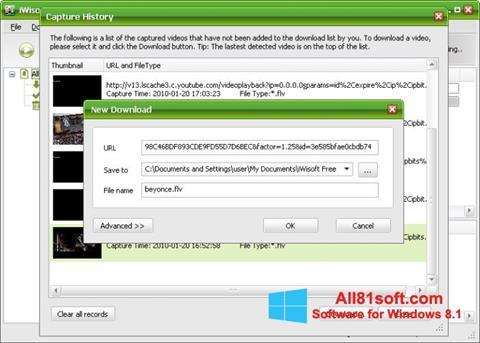 Στιγμιότυπο οθόνης Free Video Catcher Windows 8.1