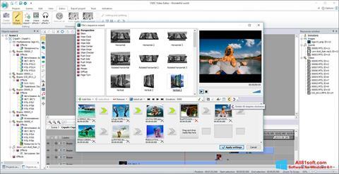Στιγμιότυπο οθόνης VSDC Free Video Editor Windows 8.1