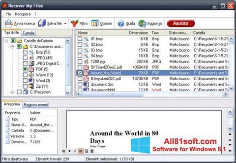 Στιγμιότυπο οθόνης Recover My Files Windows 8.1