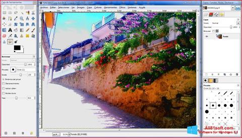 Στιγμιότυπο οθόνης GIMP Windows 8.1