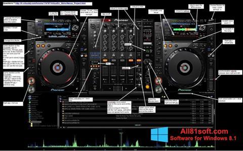 Στιγμιότυπο οθόνης Virtual DJ Windows 8.1