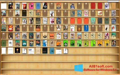 Στιγμιότυπο οθόνης Bookshelf Windows 8.1