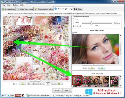 Στιγμιότυπο οθόνης Photo Collage Maker Windows 8.1