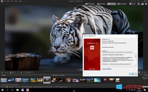 Στιγμιότυπο οθόνης ACDSee Pro Windows 8.1