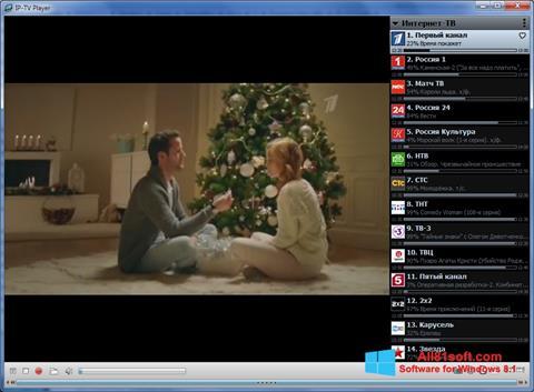 Στιγμιότυπο οθόνης IP-TV Player Windows 8.1