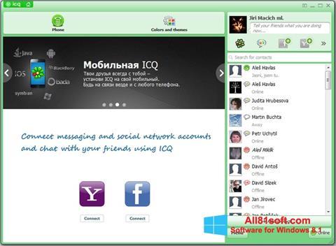 Στιγμιότυπο οθόνης ICQ Windows 8.1