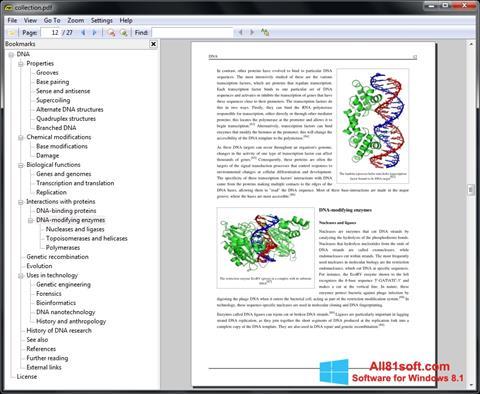 Στιγμιότυπο οθόνης Sumatra PDF Windows 8.1