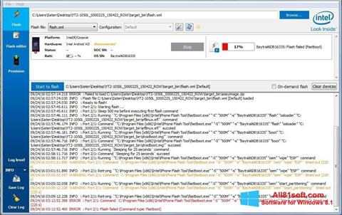 Στιγμιότυπο οθόνης FlashBoot Windows 8.1