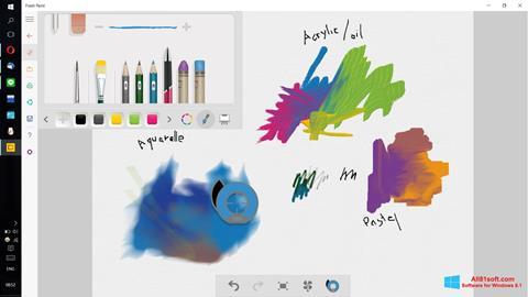 Στιγμιότυπο οθόνης Fresh Paint Windows 8.1