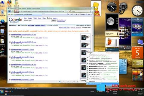 Στιγμιότυπο οθόνης Google Desktop Windows 8.1