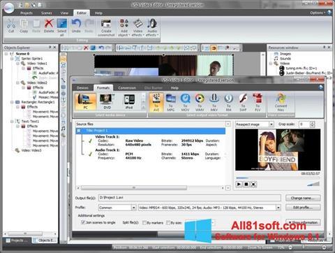 Στιγμιότυπο οθόνης Free Video Editor Windows 8.1