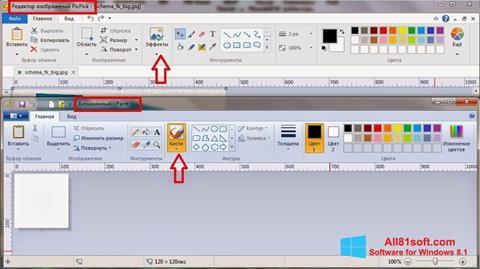 Στιγμιότυπο οθόνης PicPick Windows 8.1