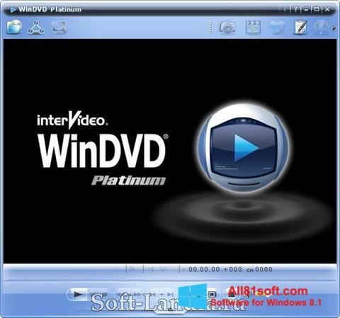 Στιγμιότυπο οθόνης WinDVD Windows 8.1