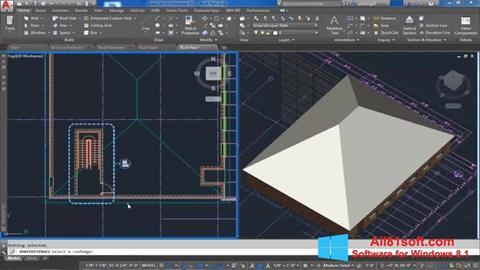 Στιγμιότυπο οθόνης AutoCAD Architecture Windows 8.1
