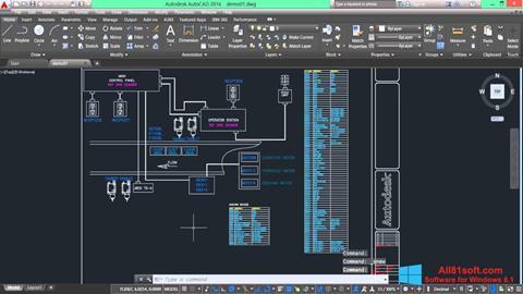 Στιγμιότυπο οθόνης AutoCAD Electrical Windows 8.1
