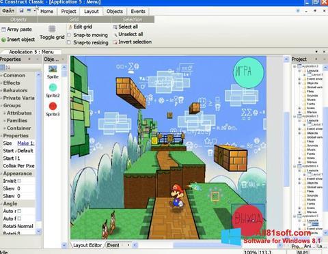 Στιγμιότυπο οθόνης Construct Classic Windows 8.1
