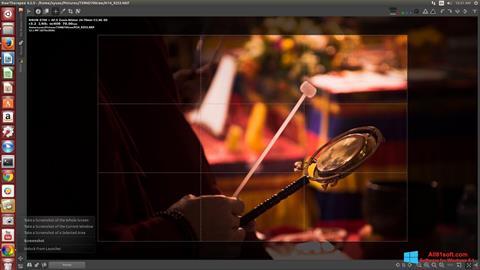 Στιγμιότυπο οθόνης RawTherapee Windows 8.1