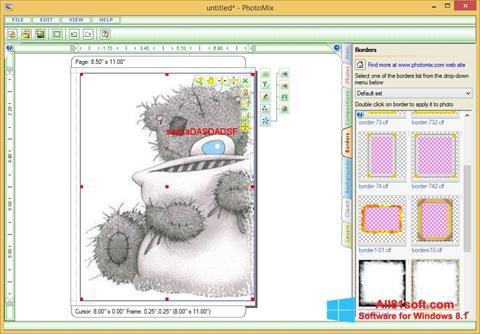 Στιγμιότυπο οθόνης PhotoMix Collage Windows 8.1