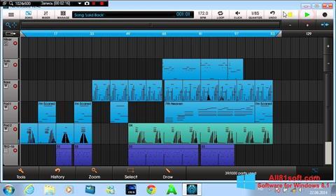 Στιγμιότυπο οθόνης NanoStudio Windows 8.1
