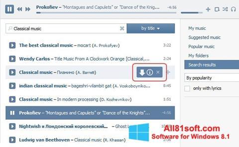 Στιγμιότυπο οθόνης SaveFrom.net Windows 8.1